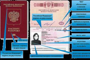 Паспорт нового образца хорошо защищен от подделки документа