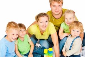 Многодетная семья: сколько детей