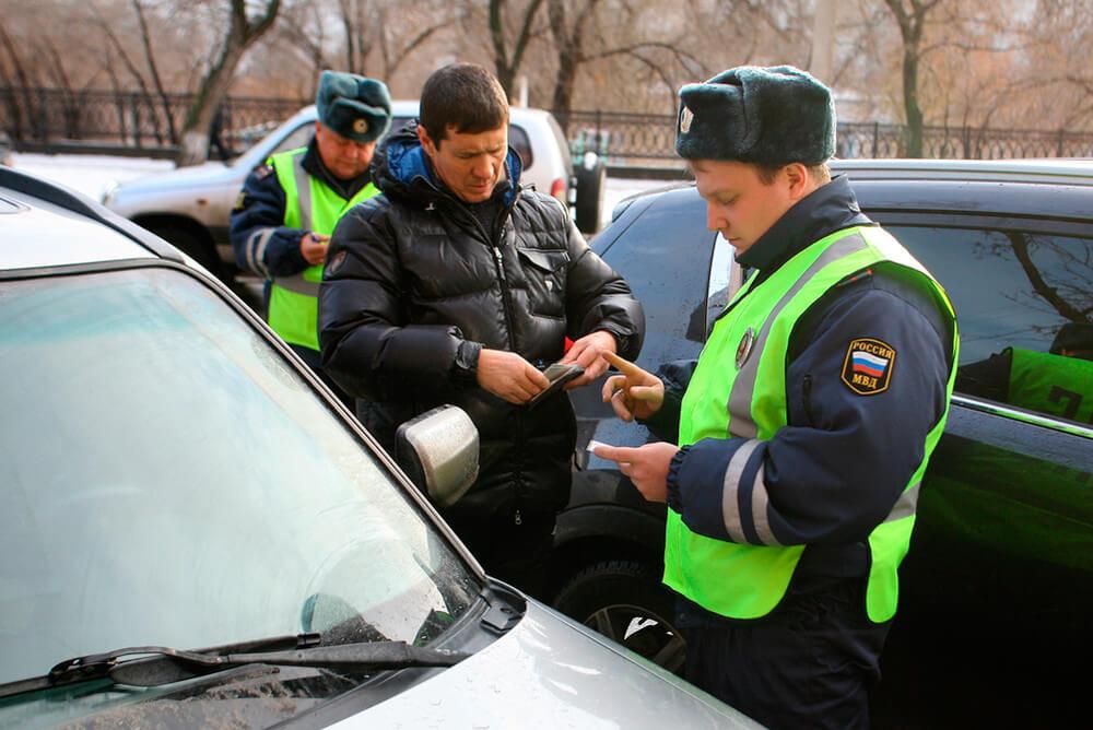 Езда на автомобиле без документов Спросить