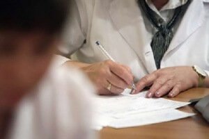 Медицинская комиссия при приеме на работу
