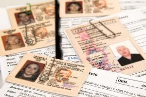 просроченное водительское удостоверение