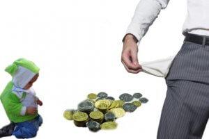 Как заставить безработного супруга платить алименты