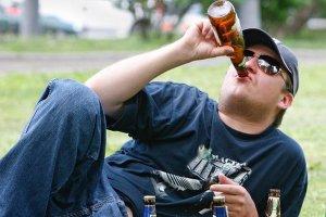 Распитие алкогольных напитков в общественных местах