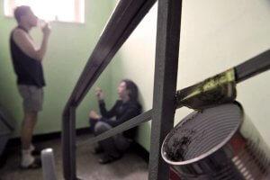 штраф за курение в подъезде