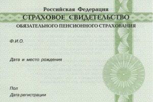 Восстановление пенсионного страхового свидетельства: порядок получения нового документа