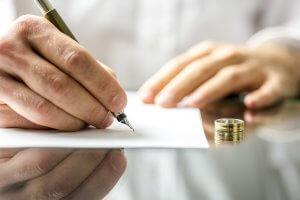Как выглядит форма заявления о расторжении брака в суд