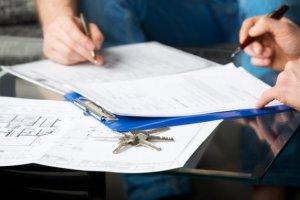 Объекты акта приема-передачи ключей