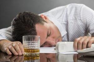 Факт совершения на предприятии лиц алкогольного опьянения