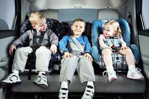 Как перевозить группу детей
