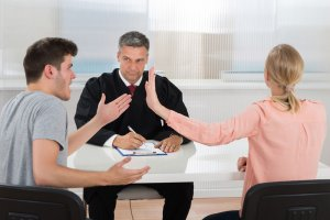 Какие вопросы задаёт судья, при разводе