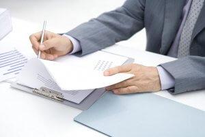 Оформление документов при подготовки к заседанию
