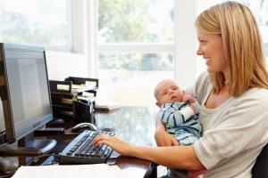 Особые условия труда для женщин в декрете