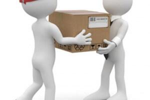 Получение посылки на почте