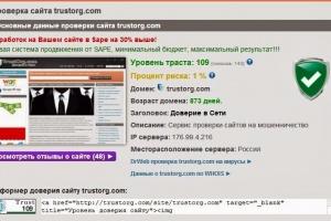 проверить сайт на мошенничество