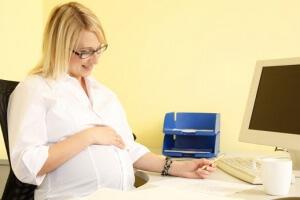 Как взять больничный если не болеешь беременной