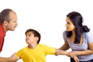 ребенок при разводе родителей