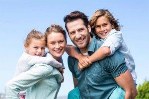 Супруги и дети