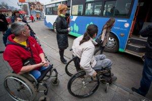 Бесплатный проезд на городском транспорте для инвалидов