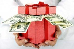 Взятка в крупном размере в виде подарка