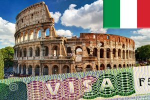 Заполнение анкеты для визы в Италию