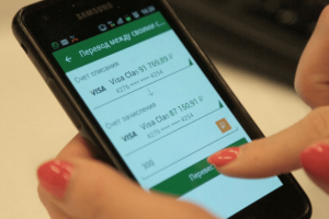 Мобильный перевод через Сбербанк
