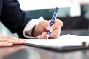 Указание адреса при заполнении документов